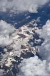 Wheeler Peak behind Clouds