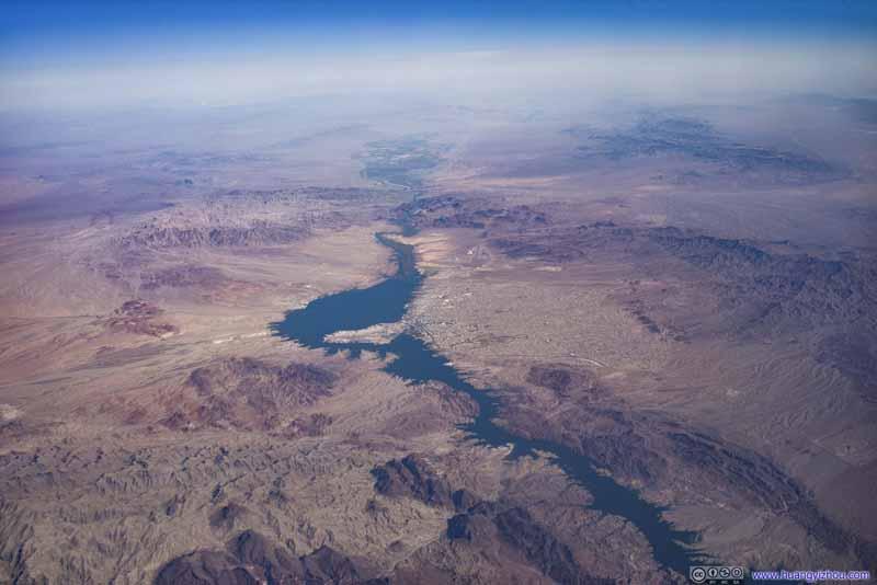Lake Havasu City along Colorado River